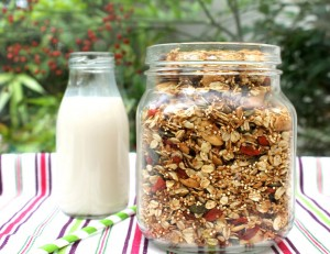 Granola with Quinoa & Goji Berries