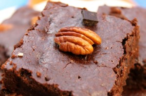 Pecan & Chocolate Chips Brownies