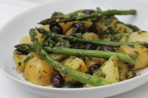 Potato Salad with Salsa Verde